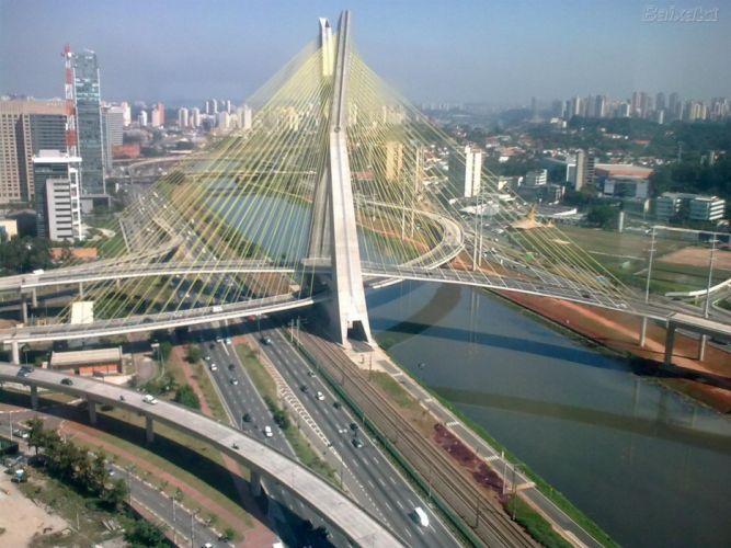 architecture cable-stayed_bridge SA wallpaper