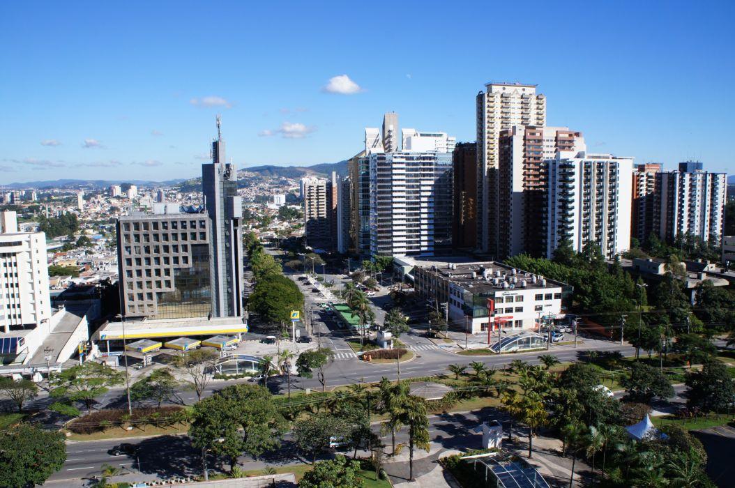 Barueri city alphaville jr-holanda building Brazil wallpaper