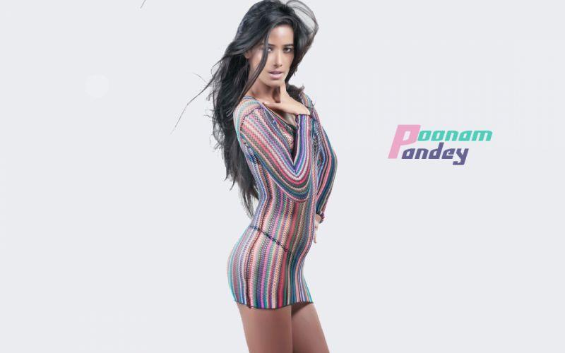 POONAM PANDEY bollywood actress model babe (3) wallpaper