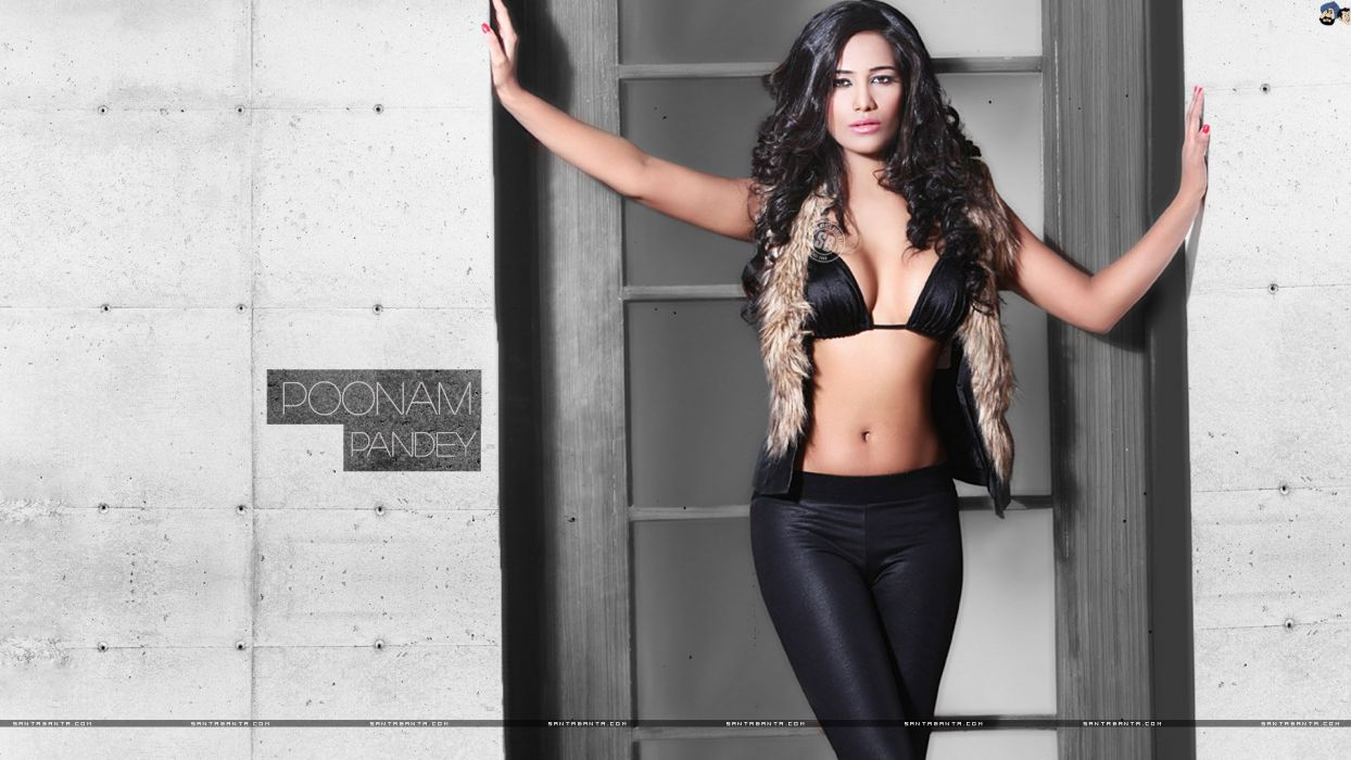 POONAM PANDEY bollywood actress model babe (35) wallpaper