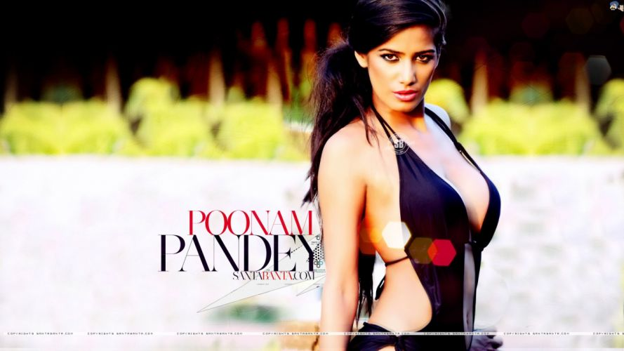 POONAM PANDEY bollywood actress model babe (29) wallpaper