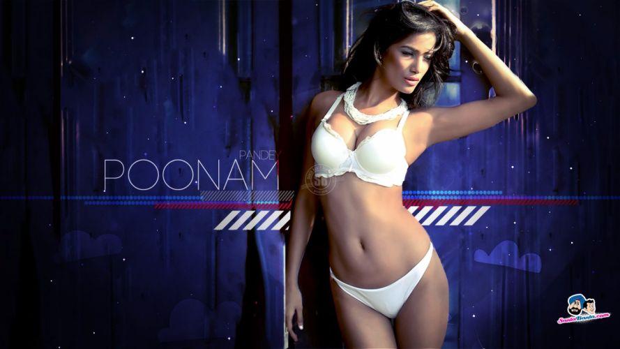 POONAM PANDEY bollywood actress model babe (27) wallpaper