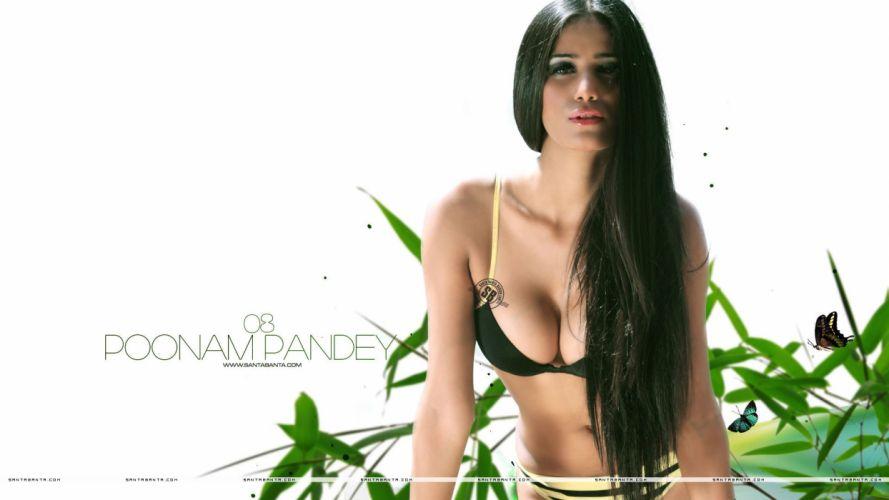 POONAM PANDEY bollywood actress model babe (36) wallpaper