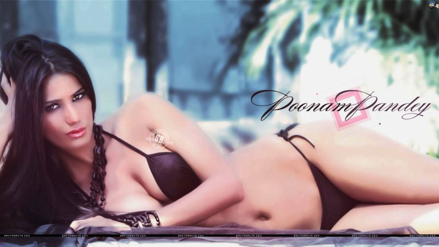 POONAM PANDEY bollywood actress model babe (37) wallpaper