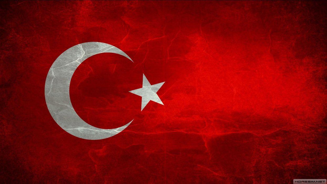flags Turkey Turkish wallpaper