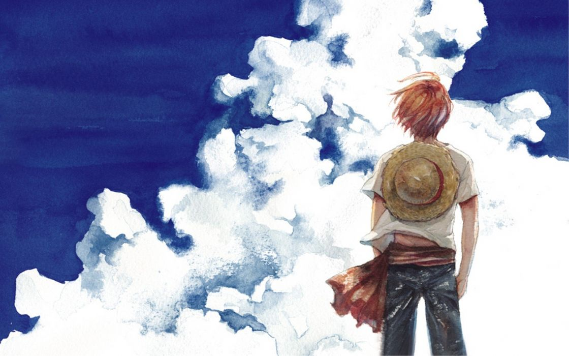 clouds One Piece (anime) Shanks wallpaper