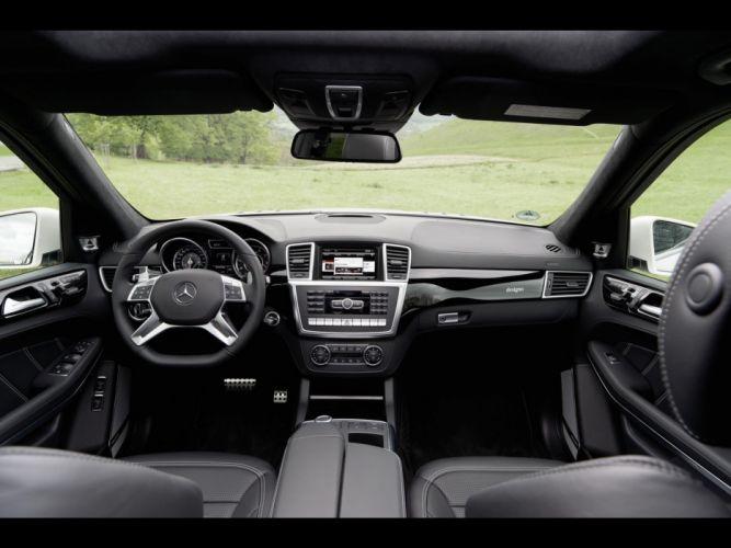 AMG dashboards Mercedes-Benz Mercedes-Benz GL-Class wallpaper