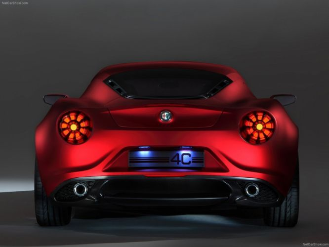 cars Alfa Romeo concept art Alfa Romeo 4C wallpaper