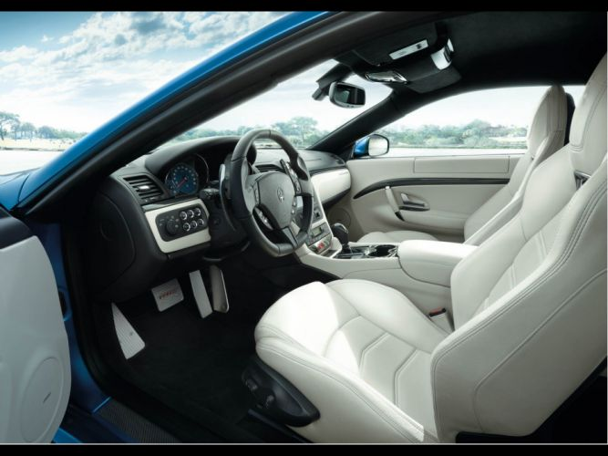 cars Italian interior vehicles car interiors Maserati GranTurismo wallpaper
