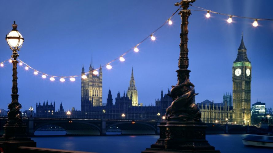 landscapes cityscapes London Houses of Parliament Palace of Westminster wallpaper