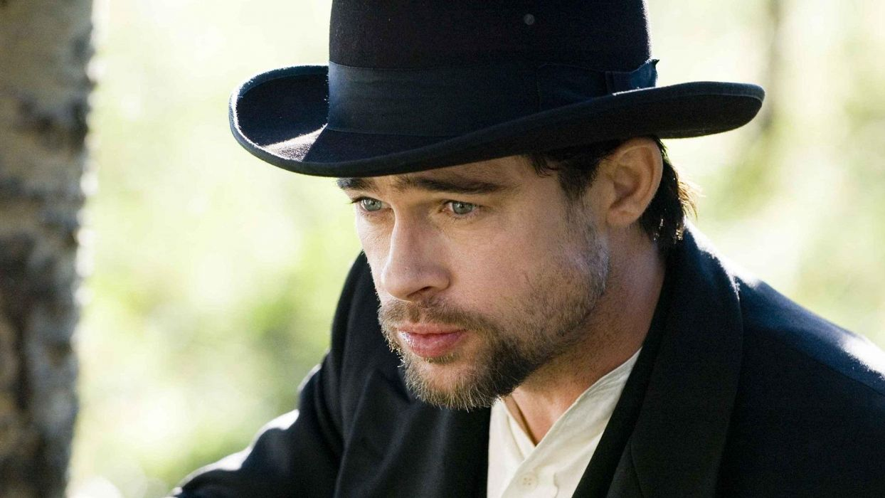 Brad Pitt actors The Assassination of Jesse James by the Coward Robert Ford wallpaper