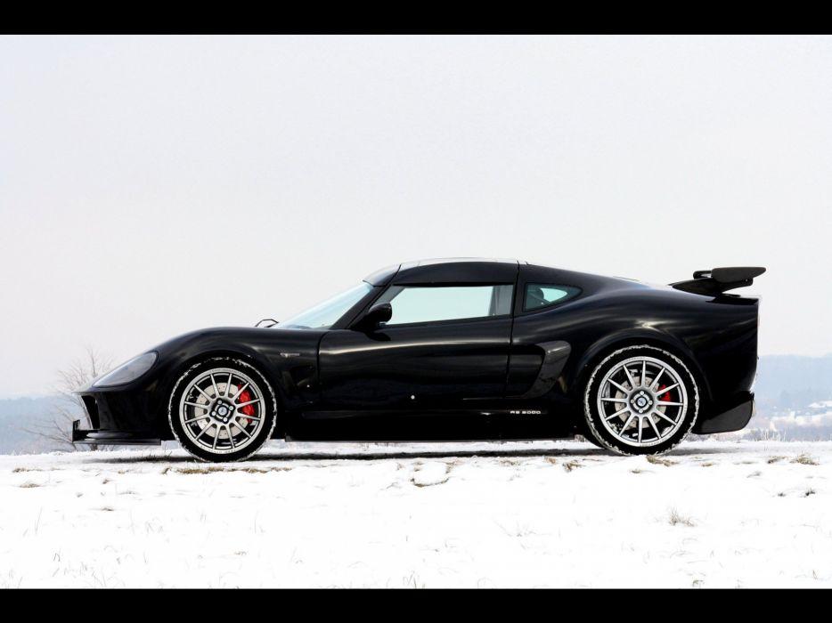 snow Black edition Melkus RS2000 wallpaper