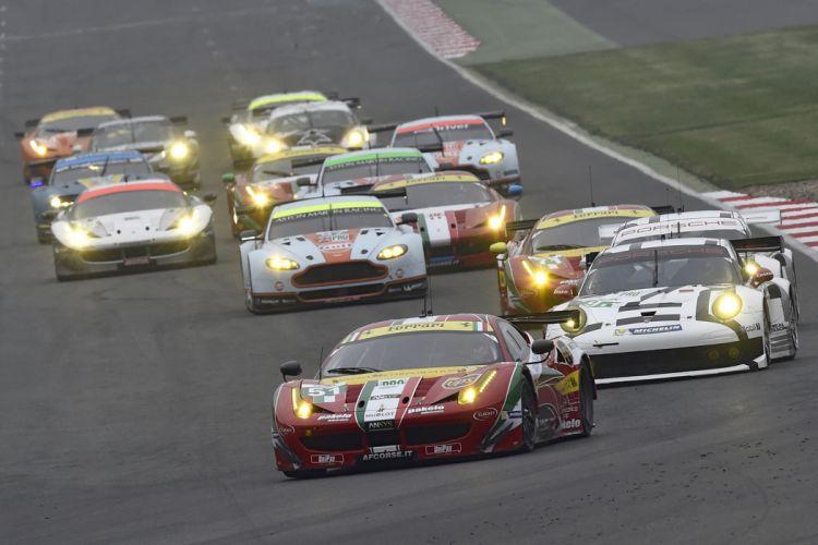 6 Hours of Silverstone 2014 AF Corse Ferrari 458 GTE 4000x2667 wallpaper