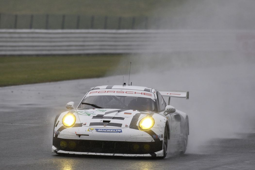 6 Hours of Silverstone 2014 Porsche Team Manthey Porsche 911 RSR Front 4000x2664 wallpaper