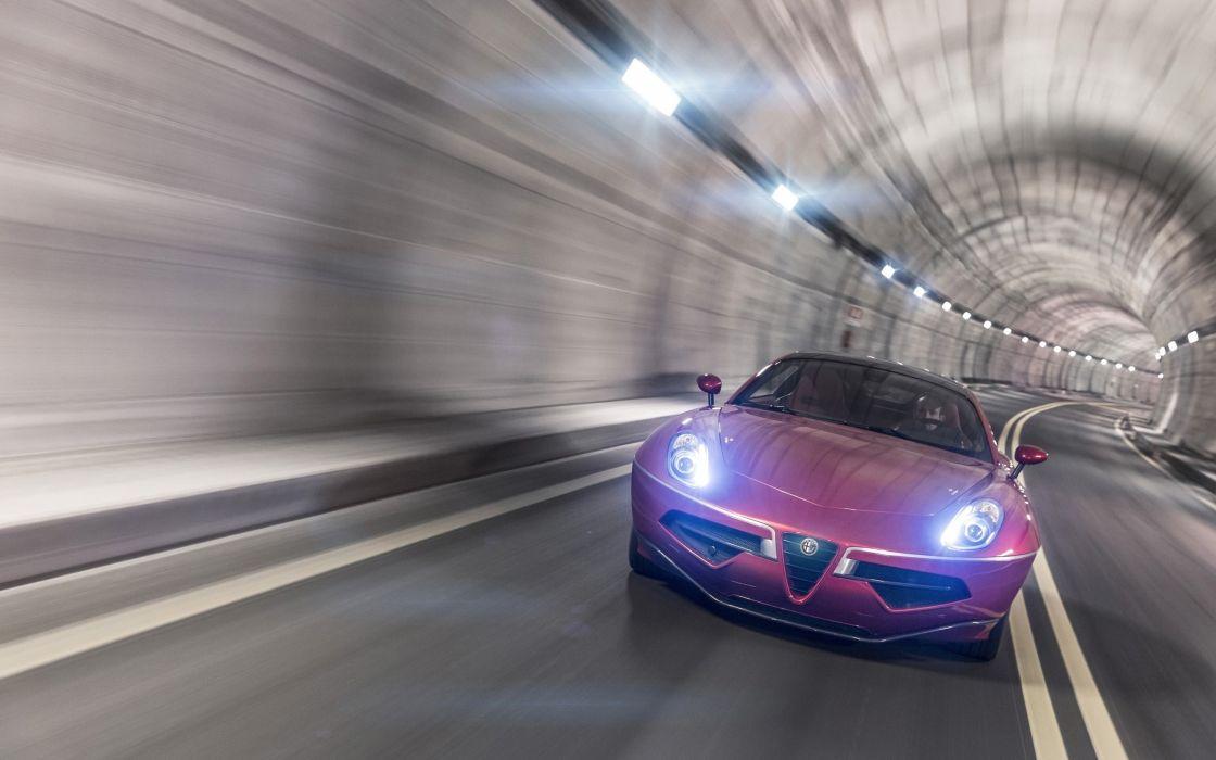 2012-Alfa-Romeo-Disco-Volante-by-Touring-Superleggera-Motion-2-car 4000x2500 wallpaper
