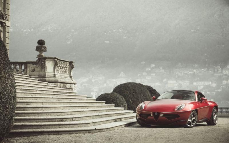 2012-Alfa-Romeo-Disco-Volante-by-Touring-Superleggera-Static-6-car 4000x2500 wallpaper