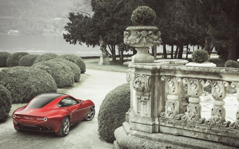 2012-Alfa-Romeo-Disco-Volante-by-Touring-Superleggera-Static-1-car 4000x2500 wallpaper