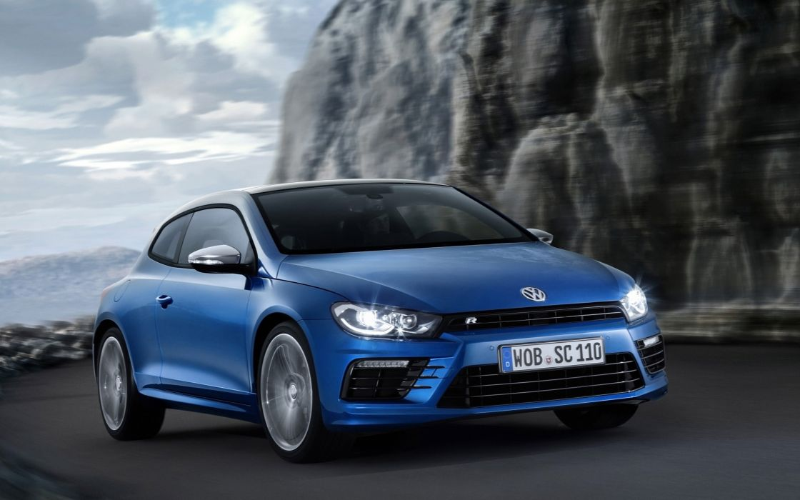 2015-Volkswagen-Scirocco-R- car 4000x2500 wallpaper