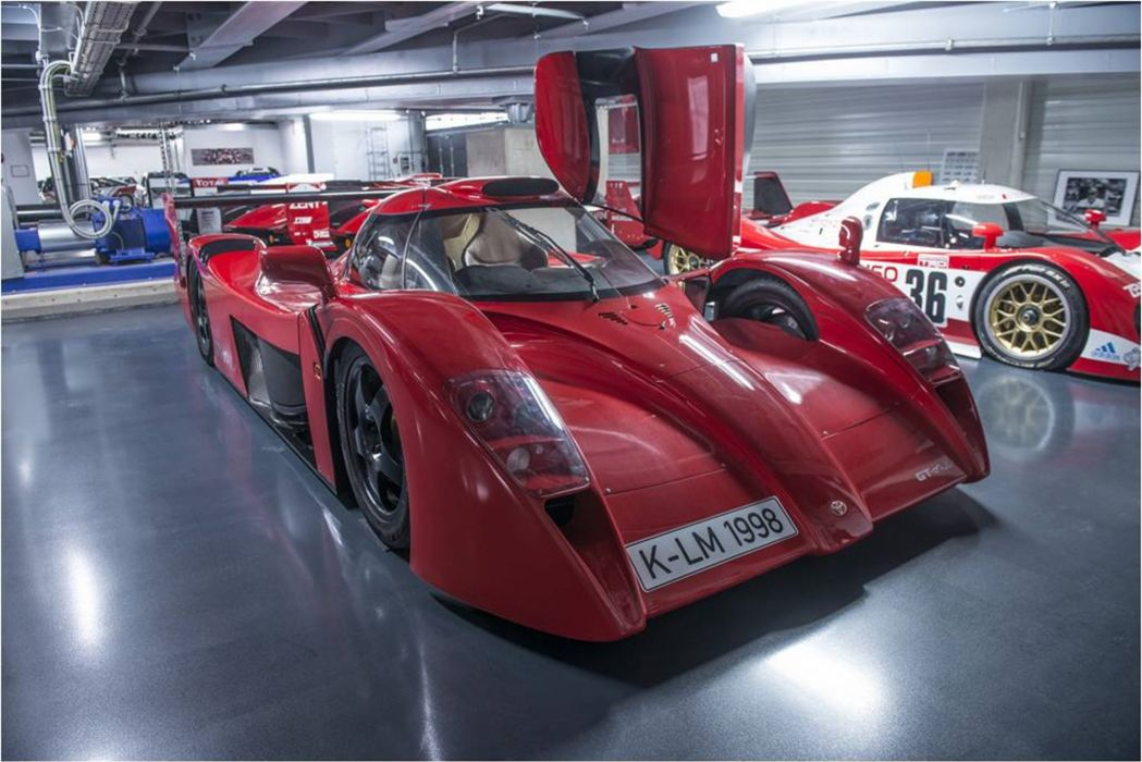 The very rare Toyota GT-One Road Car in the Toyota Motorsport GmbH underground storage_ 3000x2003 wallpaper