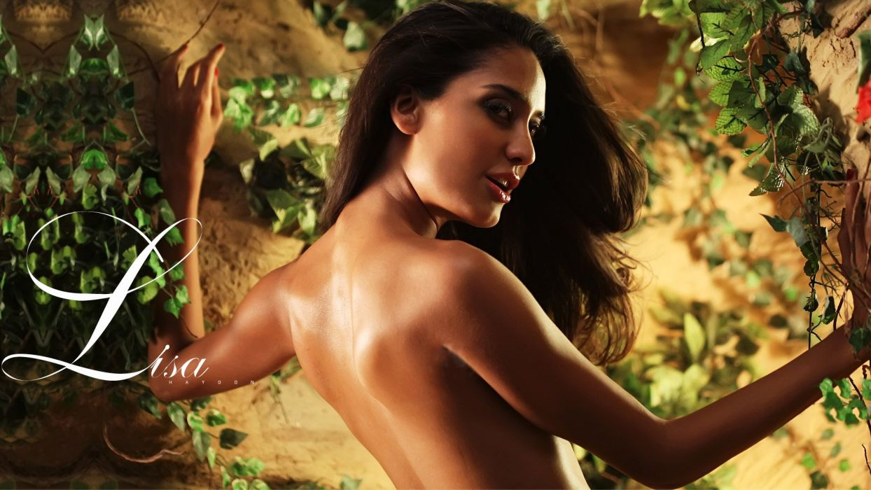 LISA HAYDON bollywood actress model babe (37) wallpaper
