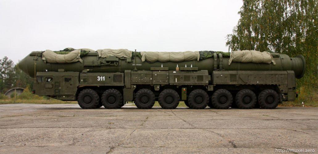 topol Russia missile russian soviet truck system mlitary YH33U 4000x1940 wallpaper