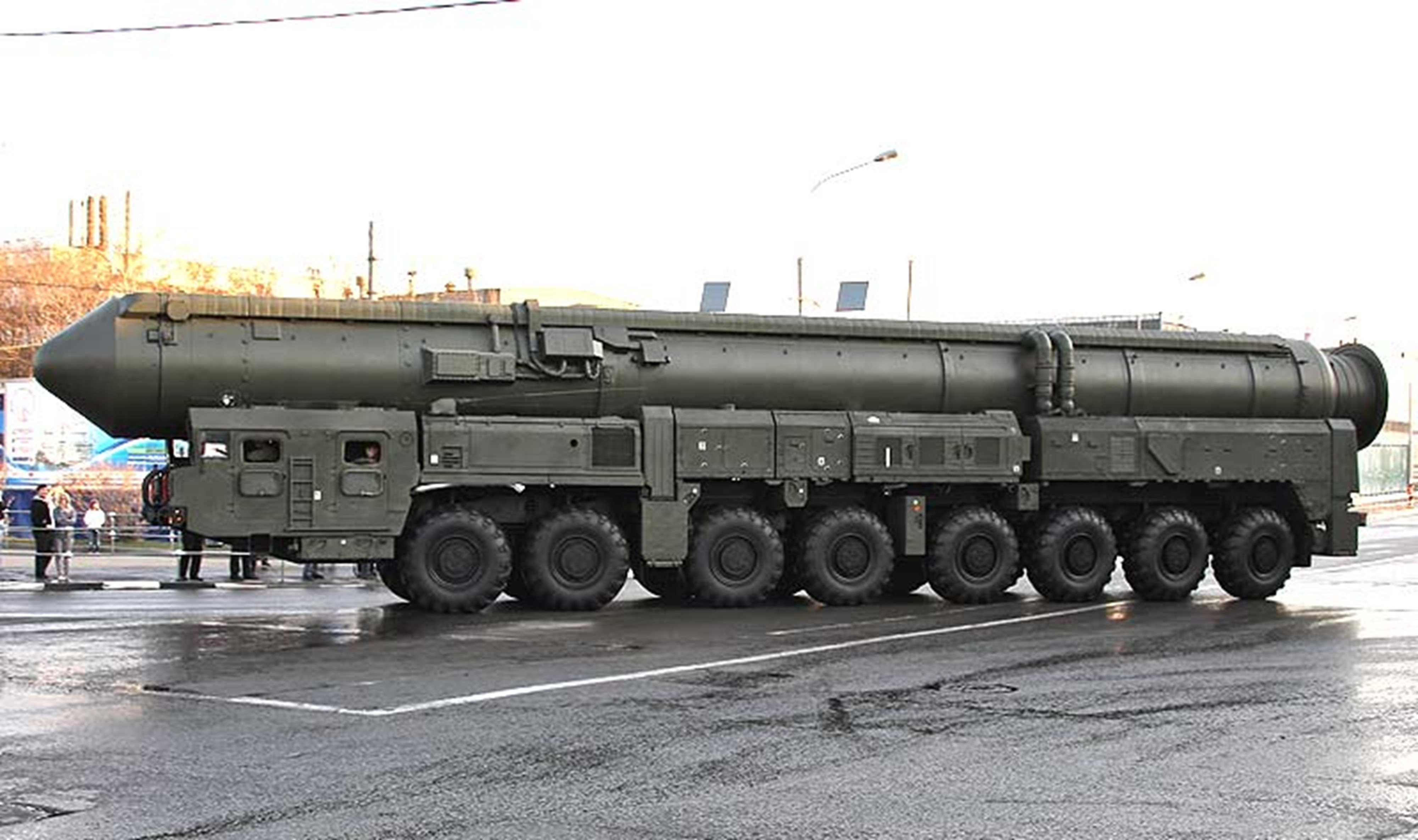 Topol Russia missile russian soviet truck system mlitary