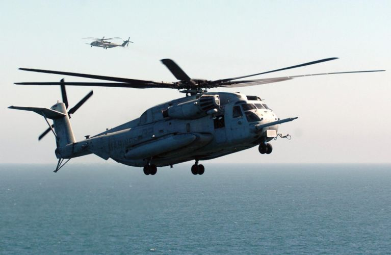 CH-53E Super Stallion helicopter military marines (12) wallpaper