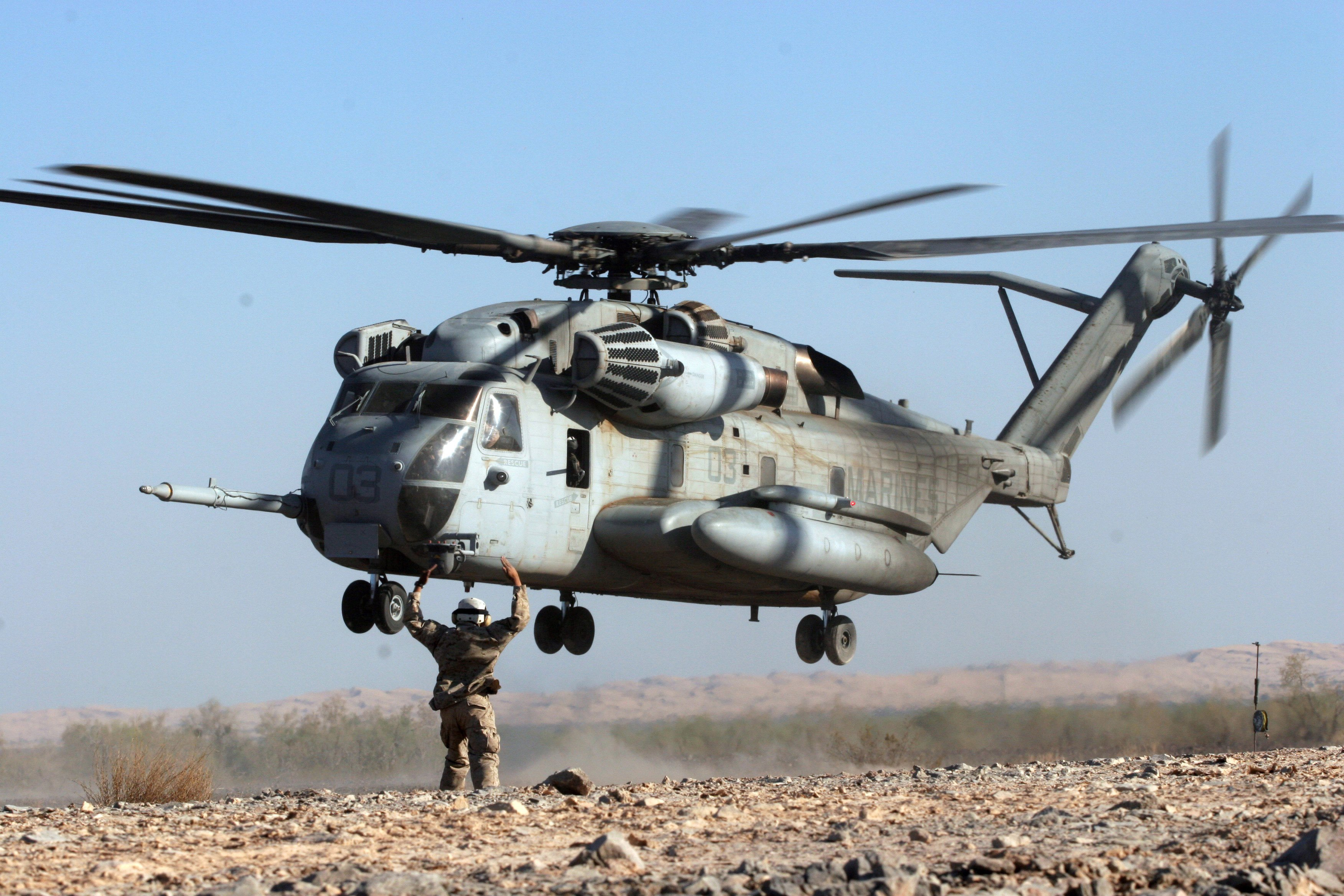 CH-53E Super Stallion helicopter military marines (55 ...
