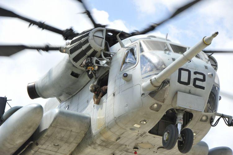 CH-53E Super Stallion helicopter military marines (60)_JPG wallpaper