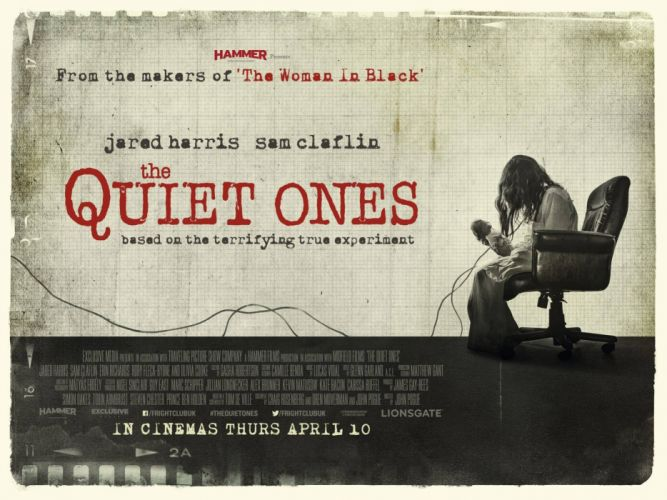 THE QUIET ONES horror dark movie film (7) wallpaper