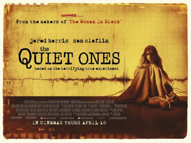 THE QUIET ONES horror dark movie film (6) wallpaper