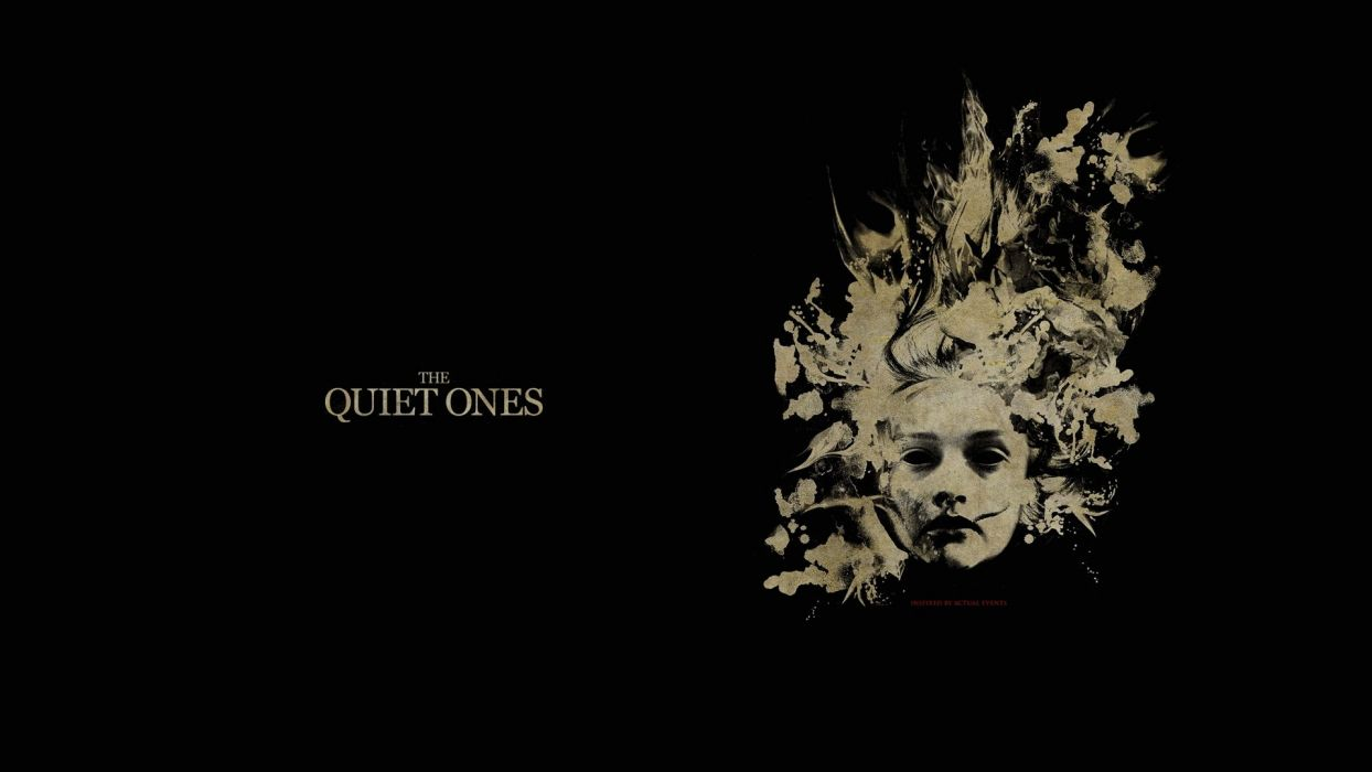 THE QUIET ONES horror dark movie film (13) wallpaper