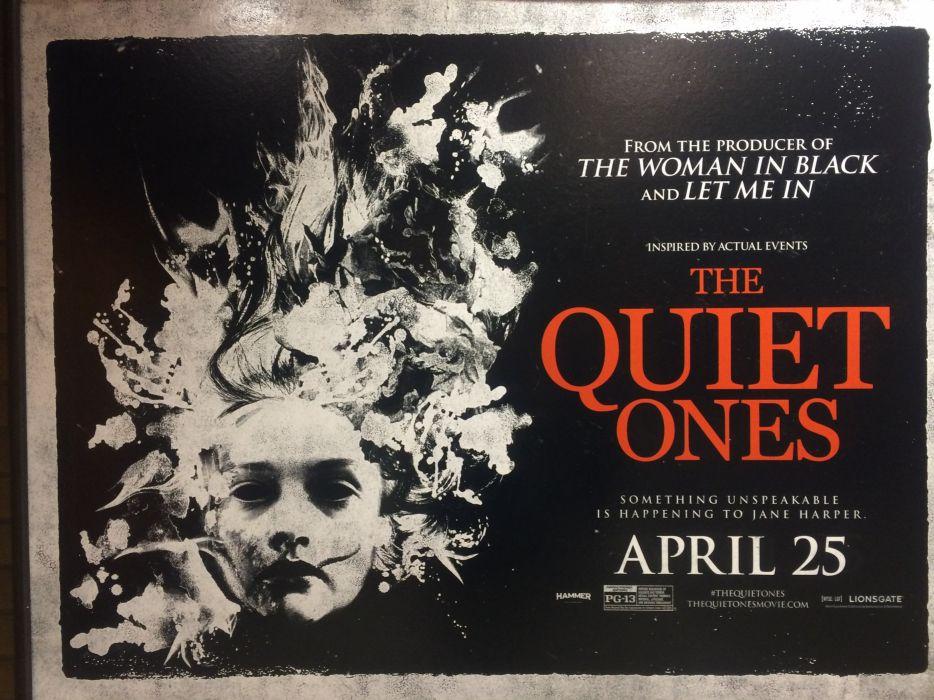THE QUIET ONES horror dark movie film (19) wallpaper