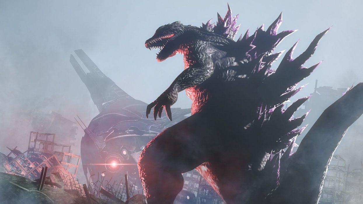 GODZILLA action adventure sci-fi fantasy monster dinosaur horror (7) wallpaper