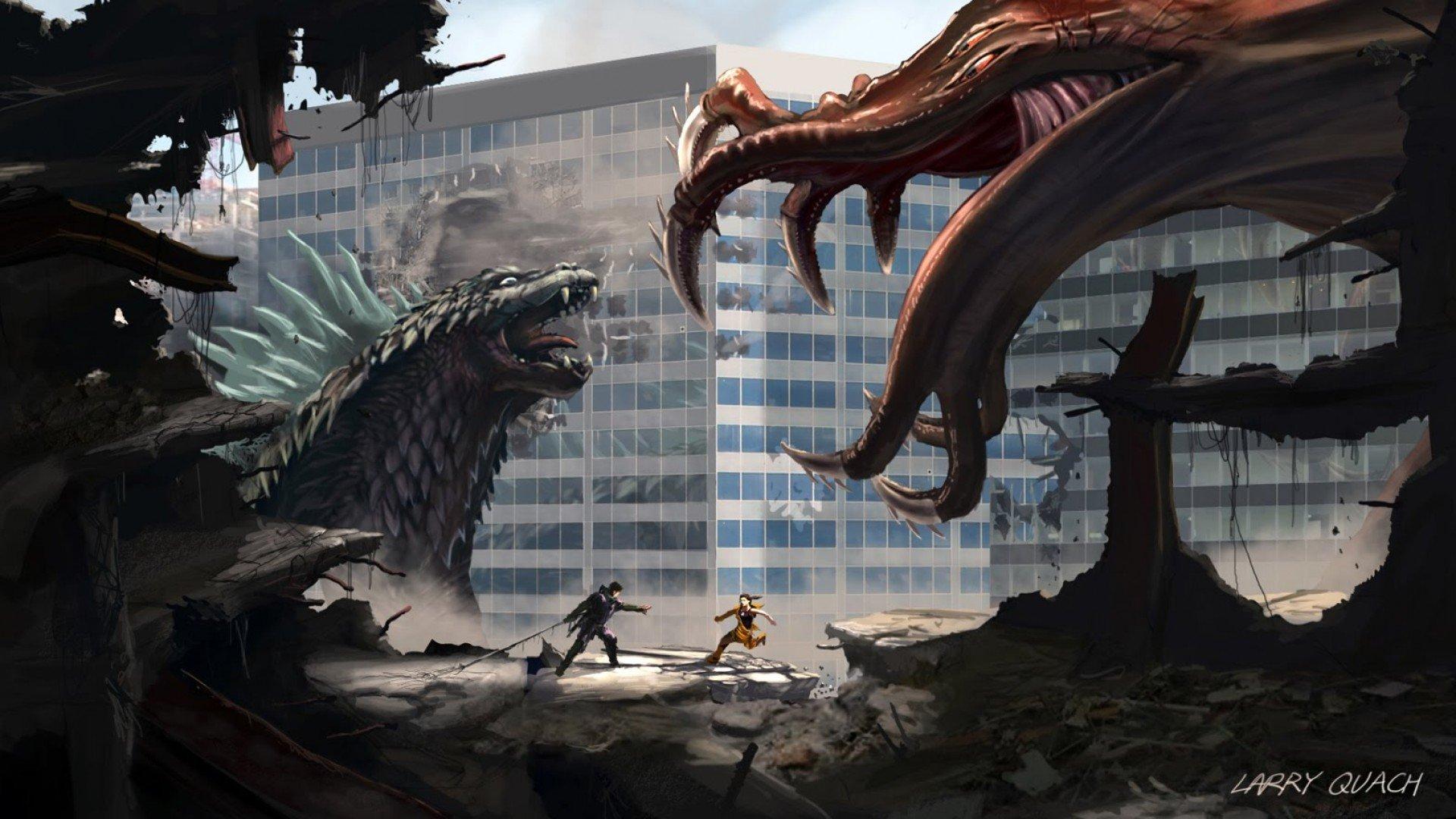 wallpaper godzilla monster dinosaur - photo #6