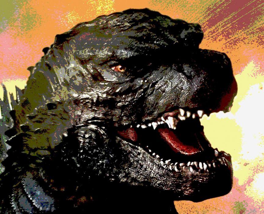 GODZILLA action adventure sci-fi fantasy monster dinosaur horror (12) wallpaper