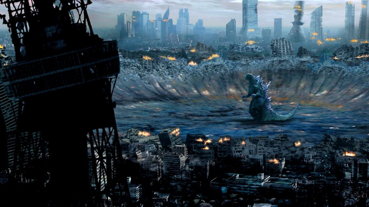 GODZILLA action adventure sci-fi fantasy monster dinosaur horror (8) wallpaper
