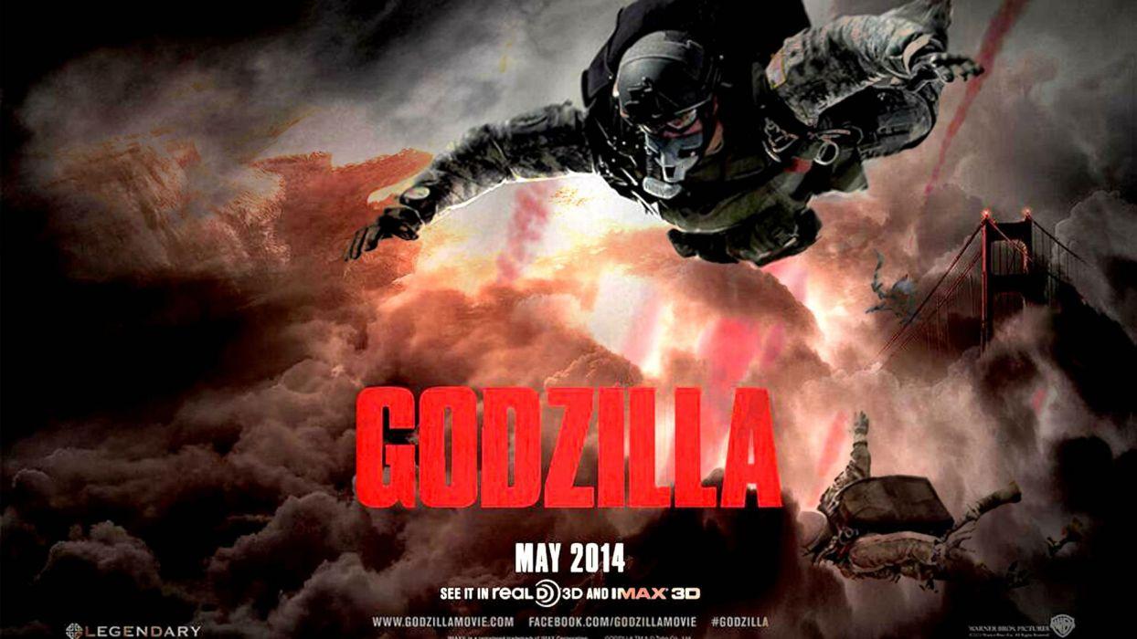 GODZILLA action adventure sci-fi fantasy monster dinosaur horror (19) wallpaper