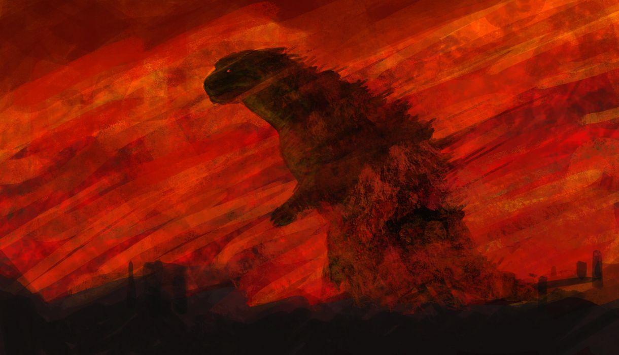 GODZILLA action adventure sci-fi fantasy monster dinosaur horror (28) wallpaper