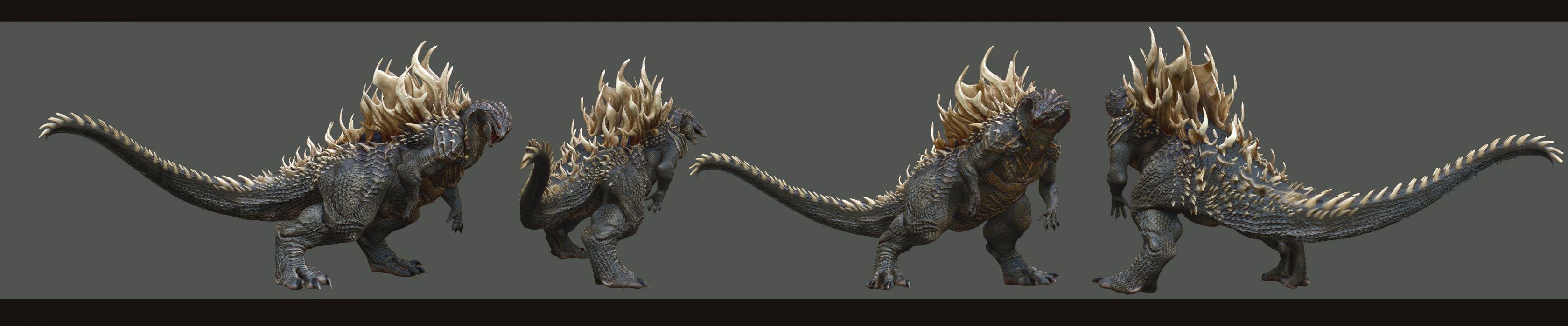 GODZILLA action adventure sci-fi fantasy monster dinosaur horror (30) wallpaper