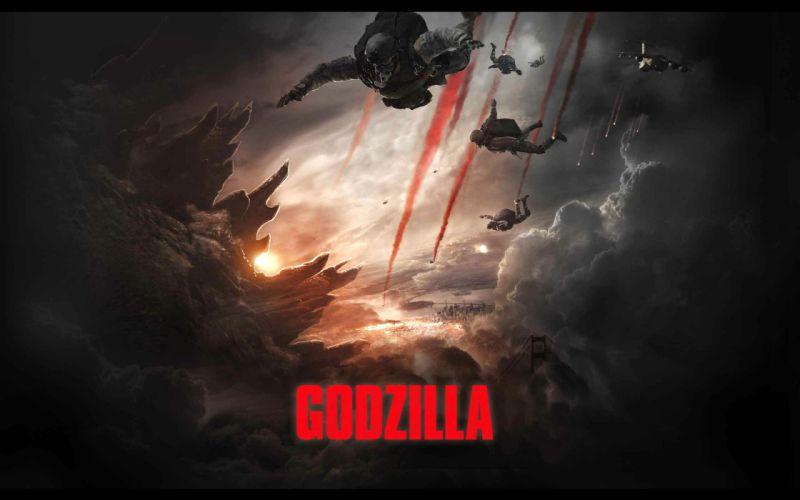 GODZILLA action adventure sci-fi fantasy monster dinosaur horror (38) wallpaper