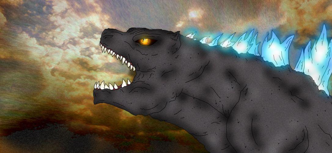 GODZILLA action adventure sci-fi fantasy monster dinosaur horror (36) wallpaper