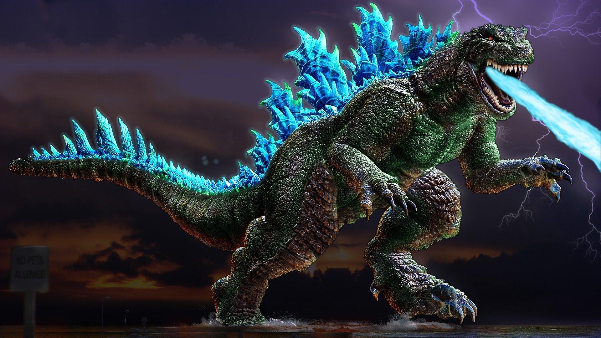 wallpaper godzilla monster dinosaur - photo #10