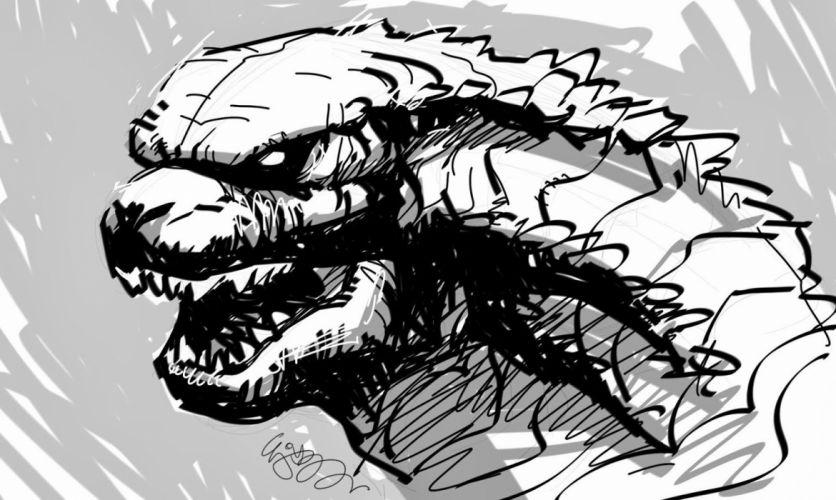 GODZILLA action adventure sci-fi fantasy monster dinosaur horror (43) wallpaper