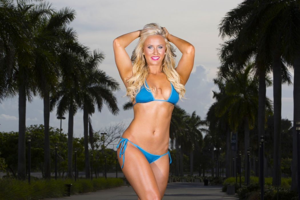 FLORIDA PANTHERS nhl hockey cheerleader bikini sexy babe wallpaper