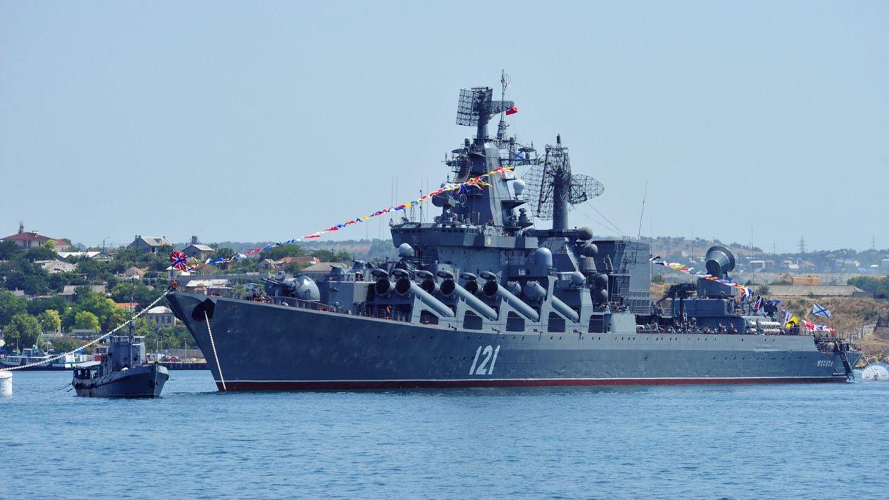 warships russian navy ships black-sea fleet guided-missile Russia 4000x2250 wallpaper