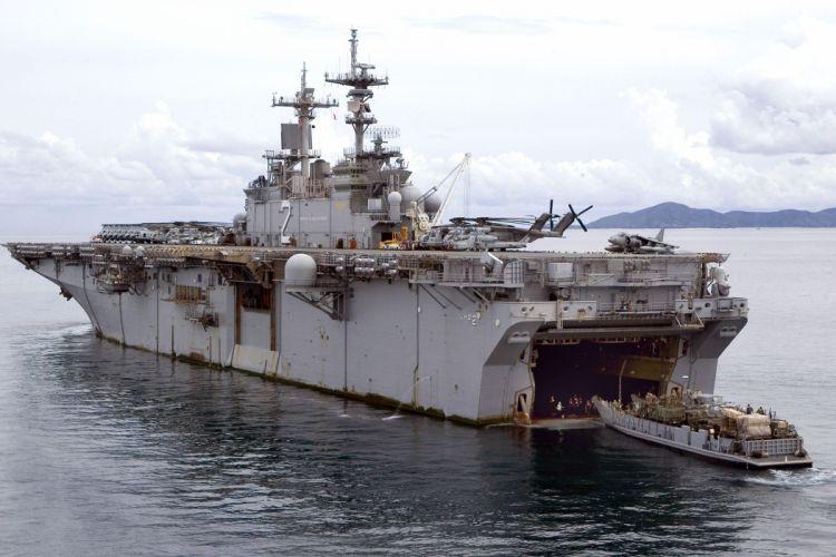 warship navy ship USS Essex Thailand 4000x2667 wallpaper