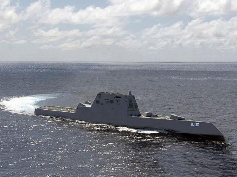 warship navy ship war zumwalt2 4000x3000 wallpaper