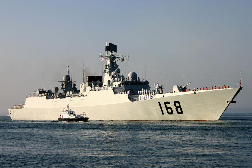 warship navy war ship guangzhou destroyer 4000x2667 wallpaper