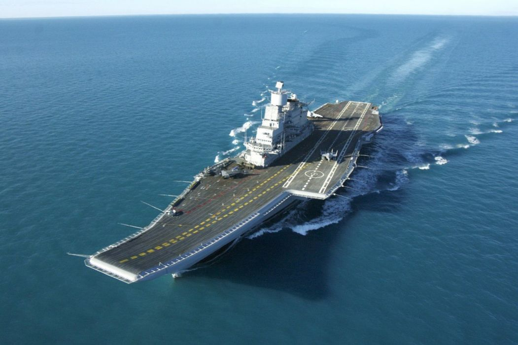 Aircraft Carrier INS Vikramaditya Indian Navy 4000x2665 Wallpaper